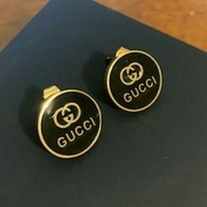 Gucci Gold Black Earrings 😃😃😃😃😃